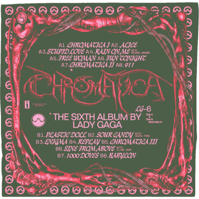 Lady Gaga: CHROMATICA GREEN BANDANA