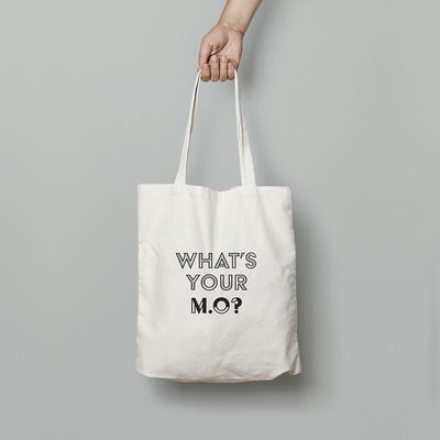 M.O.: What's Your M.O? Tote Bag