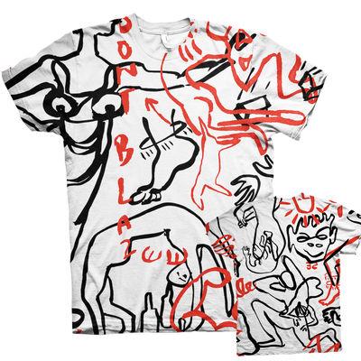 Pumarosa: Pumarosa all over print T-shirt