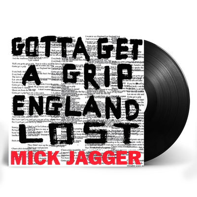 Mick Jagger: Limited Edition Gotta Get A Grip / England Lost 12