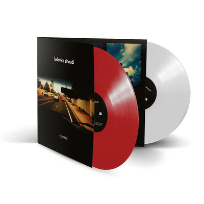 Ludovico Einaudi: Cinema: Exclusive Red and White Vinyl 2LP