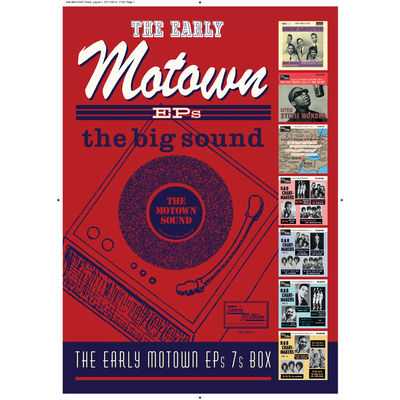 Motown: The Early Motown EPS A3 Poster