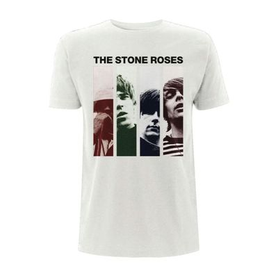 The Stone Roses: Photo Stripe T-Shirt