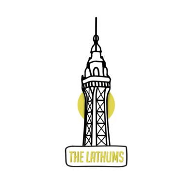 The Lathums: Blackpool Pin Badge