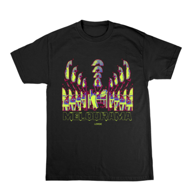 Lorde: Psychadelic Chair Tee