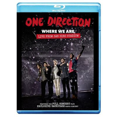 One Direction: Where We Are: Live From San Siro Stadium (Blu-ray)