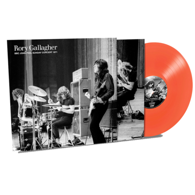 Rory Gallagher: NEW Rory Gallagher - John Peel Sunday Concert: 50th Anniversary Exclusive Red Vinyl Edition