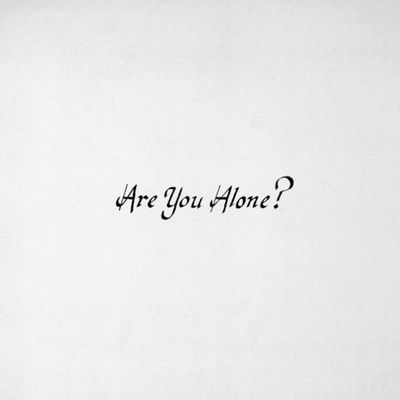 Majical Cloudz: Are You Alone?