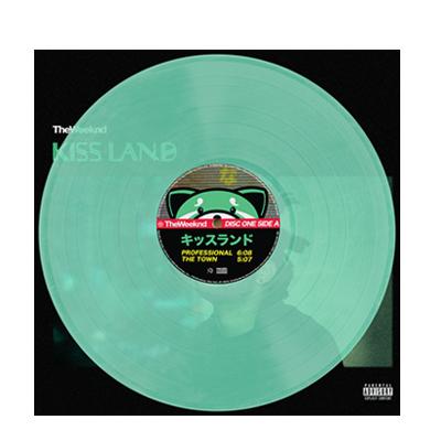 The Weeknd: Kiss Land Green Vinyl
