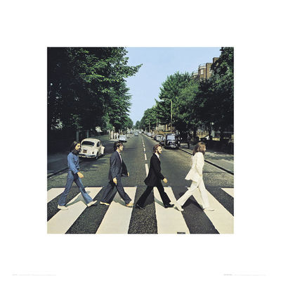 The Beatles: Abbey Road  High Quality Print
