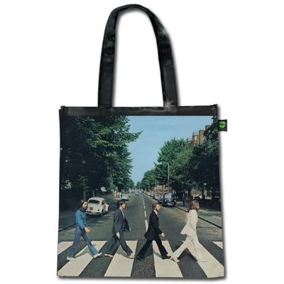 The Beatles: Abbey Road (Shiny Version) Tote Bag