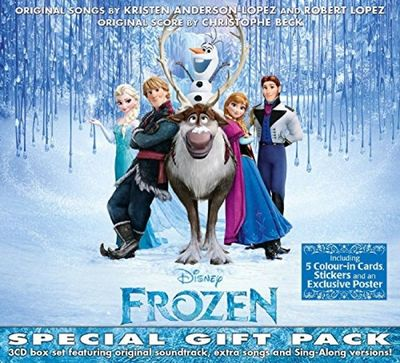 Various Artists: Frozen Special Gift Pack