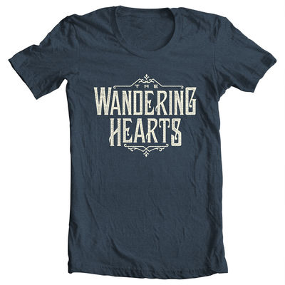 The Wandering Hearts: The Wandering Hearts T-Shirt