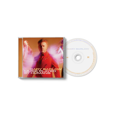 Gary Barlow: Music Played By Humans Jewel Case CD