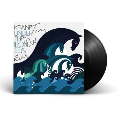 Keane: SIGNED UNDER THE IRON SEA VINYL