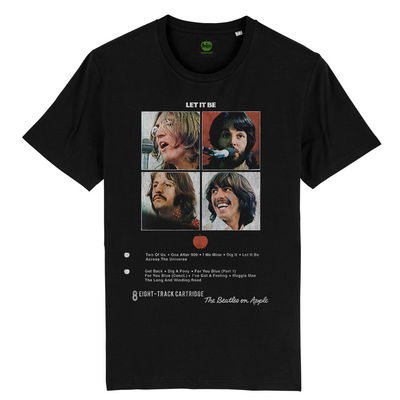 The Beatles: Let It Be 8 Track T-Shirt