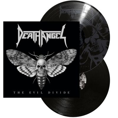 Death Angel: The Evil Divide: Etched Vinyl