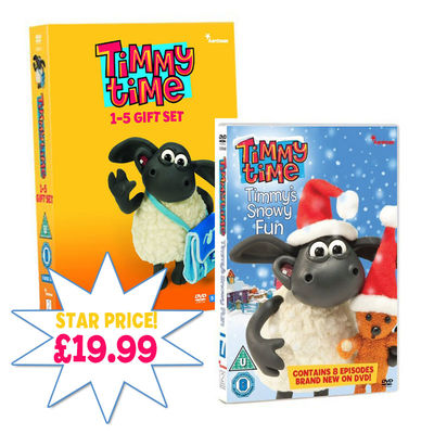 Timmy Time: Timmy Time DVD Gift Set And Snowy Fun DVD Bundle