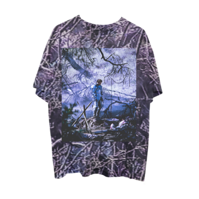 Post Malone: CIRCLES TREE CAMO T-SHIRT - M