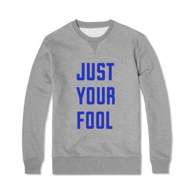 The Rolling Stones: Just Your Fool Flocked Crewneck