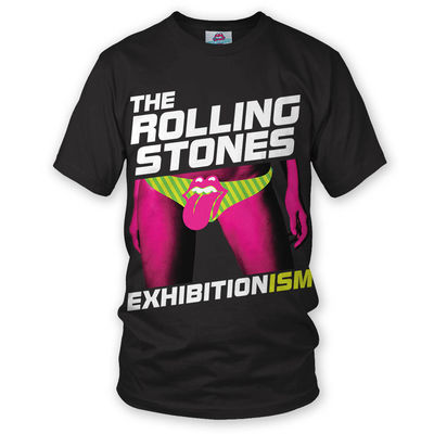 The Rolling Stones: Exhibitionism T-Shirt Black