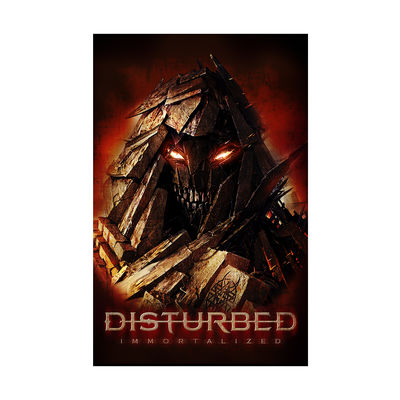 Disturbed: Red Hot Poster