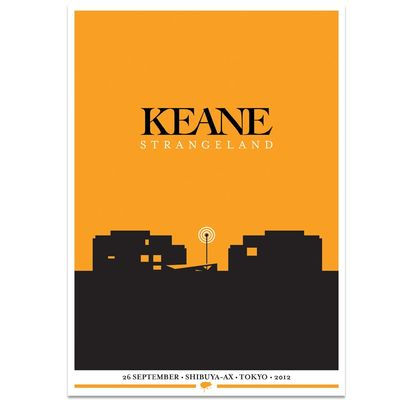 Keane: Strangeland Tour Series Screen Print: Asia