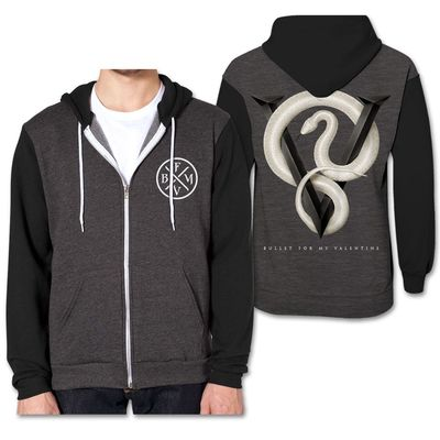 Bullet For My Valentine: Snake Contrast Hoodie