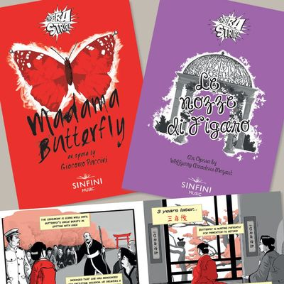 Sinfini Music: Opera Strip! Mozart's The Marriage of Figaro + Puccini's Madama Butterfly