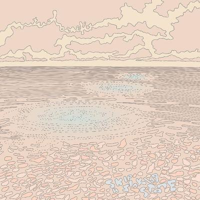 Mutual Benefit: Skip a Sinking Stone: Grey/Blue Splatter Vinyl