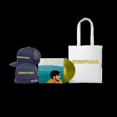 Jack Savoretti: Europiana Vinyl, Cap & Tote Bag