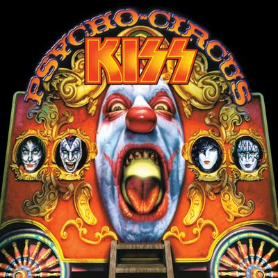 Kiss: Psycho Circus: 3D Lenticular Cover