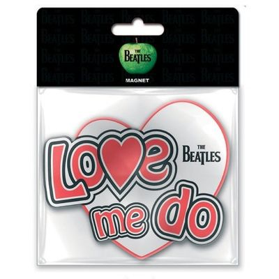 The Beatles: Love Me Do Rubber Fridge Magnet