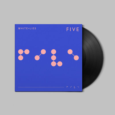 White Lies: FIVE - Signed