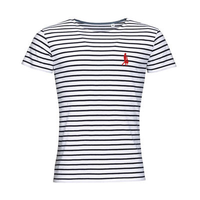 Amy Macdonald: Striped Emblem T-Shirt