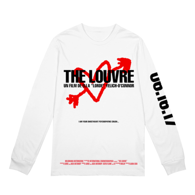 Lorde: The Louvre WHT LS
