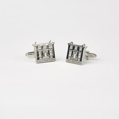Abbey Road Studios: Luxury Metal House Cufflinks Boxed