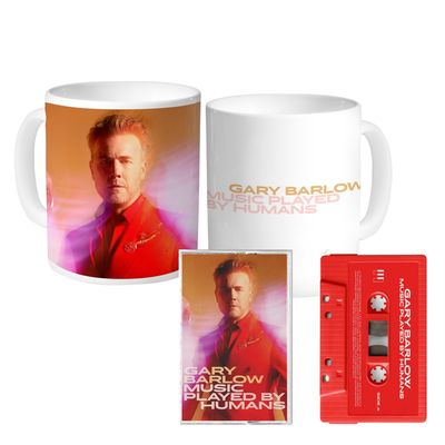 Gary Barlow: Music Played By Humans Cassette & Mug