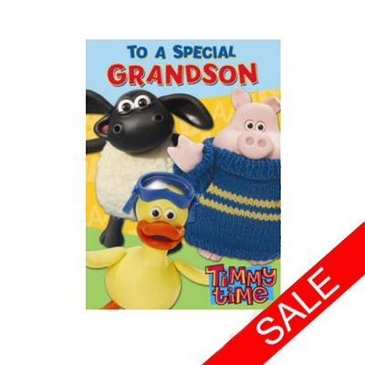 Timmy Time: Grandson Birthday Card