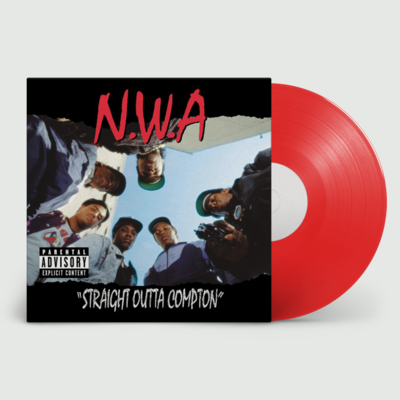 N.W.A: Straight Outta Compton (Red Vinyl Import)