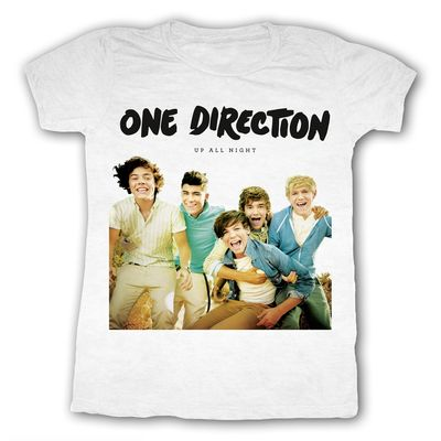 One Direction: One Direction Album White T-Shirt