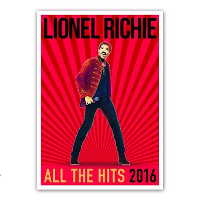 Lionel Richie: All The Hits 2016 Litho