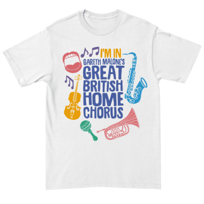 Gareth Malone: Gareth Malone's Great British Home Chorus t-shirt