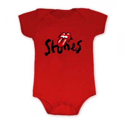 The Rolling Stones: No Filter Brush Stroke Babygrow