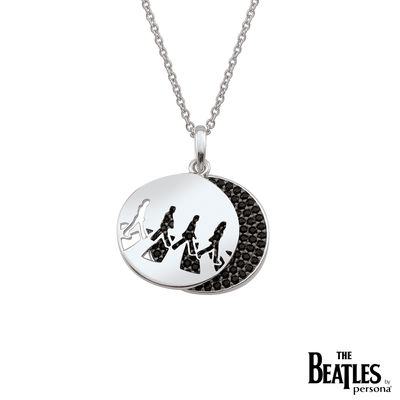 The Beatles: 925 Abbey Road CZ Necklace