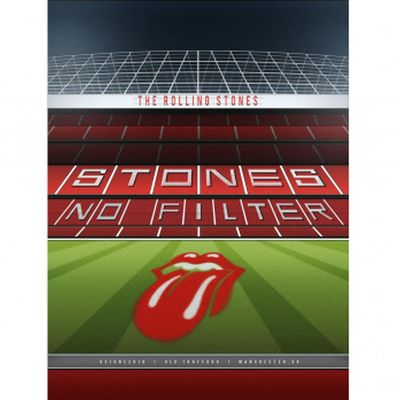 The Rolling Stones: Manchester Lithograph