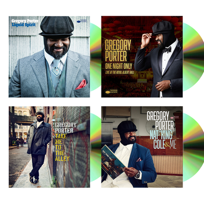 Gregory Porter: Gregory Porter 4 CD fan bundle