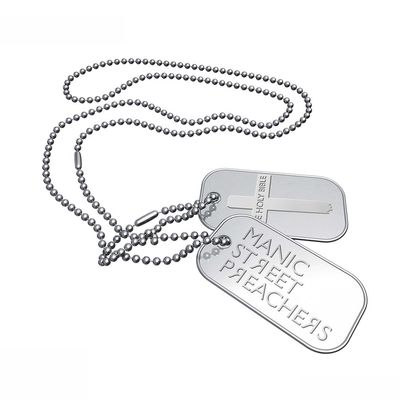 Manic Street Preachers: The Holy Bible - Cross DogTags