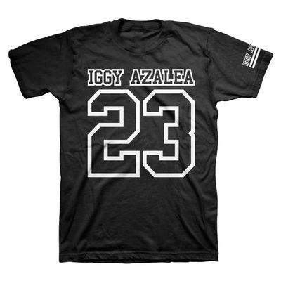Iggy Azalea: 23 Iggy Azalia T-Shirt Small