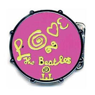 The Beatles: Love Drum Pink Buckle